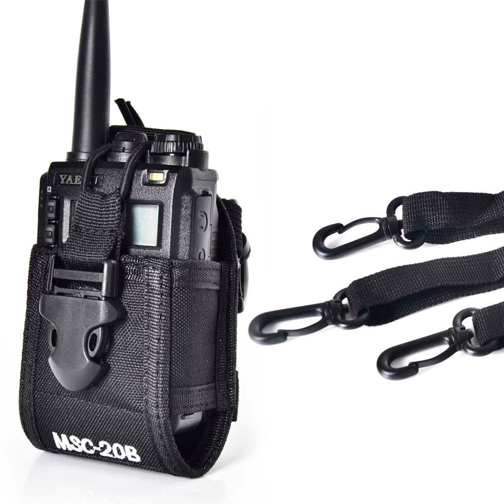 Baofeng zwei-wege-radio fall halter MSC-20B für Icom Baofeng UV-5R/5RE/5RA PLUS TYT TH-F8 + Yaesu Vextex walkie talkie