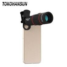 18X25 мобильный телефон LensMonocula телескоп с переменным фокусным расстоянием для Xiaomi redmi Примечание 7 mi 9 смартфонов зажим телефон 18X сотовый телефон объектив камеры