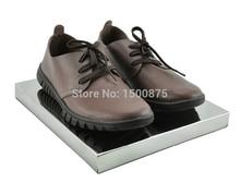 High grade Multi fonction Silver Metal Displa Stand Shoe Stand Holder Handbag Stand Rack