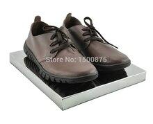 High-grade Multi-fonction Silver Metal Displa Stand Shoe Stand Holder Handbag Stand Rack