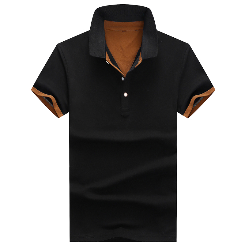 Polo   shirt short sleeve 2019 summer men's cotton   polo   shirt large size S-XXXL men's half sleeve casual slim jersey   polo   shirt