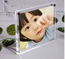 (GT3164-A6) Lucite Sandwiched Picture Display Frames With Screws For Promotion Gifts