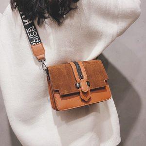 Image 3 - 2019 yeni mini çanta kadın moda ins ultra yangın retro geniş omuz askısı askılı çanta çanta basit stil Crossbody çanta