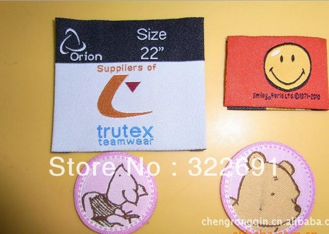 2013 логотип Костюмы тканые этикетки/одежды тканые этикетки