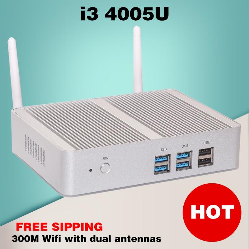 328 mini pc multimed barato tv box pequeño haswell intel nuc i3 4005u windows 10