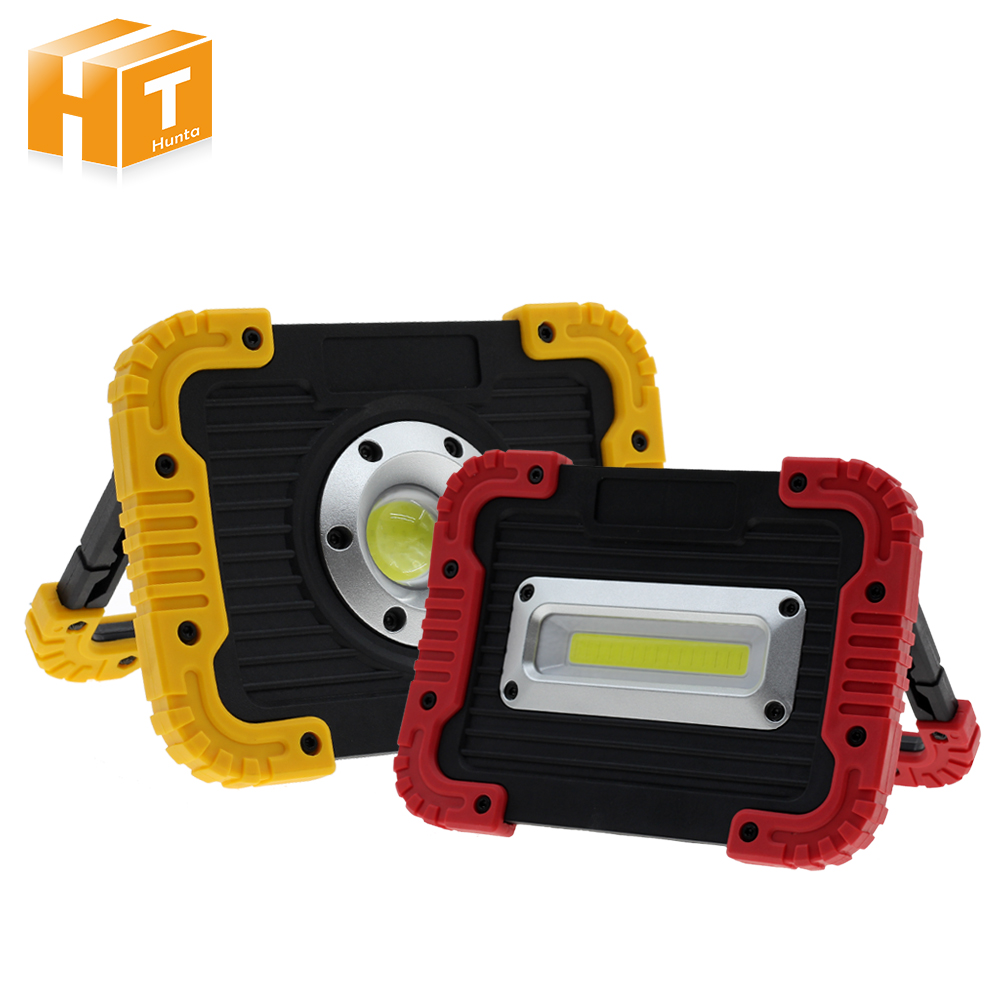 Portable USB COB LED Flood Light Rechargeable Outdoor Waterproof Camping Tent Night-Fishing LED Spot Light t sunrise led flood light rechargeable portable for car tent emergency working light outdoor waterproof camping fishing lamp 20w