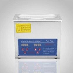 VEVOR 3L Digital Ultrasonic Cleaner Cleaning Supplies Jewellery Bath Timer Watch