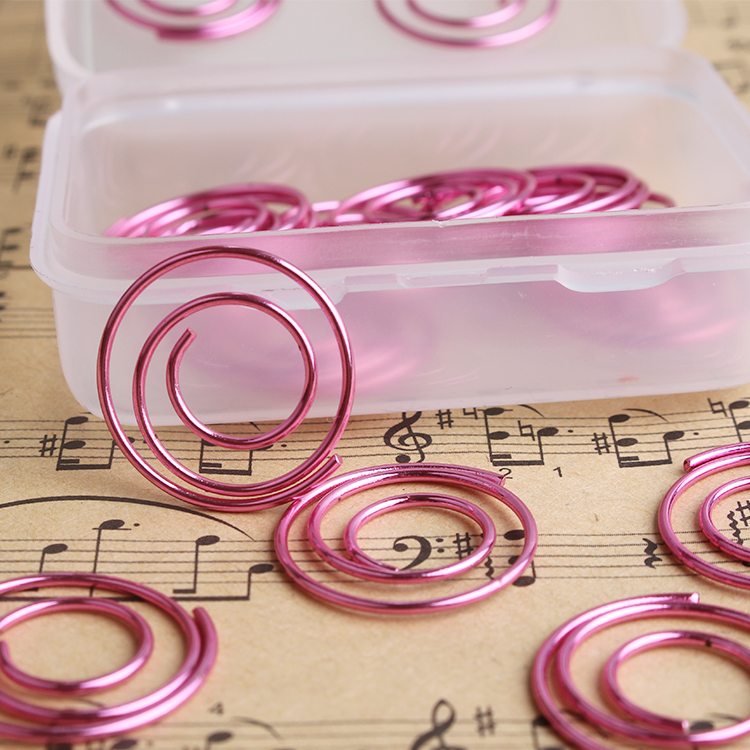 Creative Styling Paper Clip Hand Folder Office Paper Clips Decorative Metal Rose Gold Paper Clips Cute Paper Clips Bookmark
