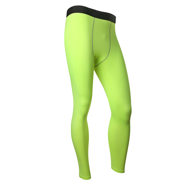 2018 Männer Quick Dry Elastischen Komprimierung Lange Jogger Hosen Beiläufige Dünne Dünne Fitness Bodybuilding Engen Leggings Jogginghose