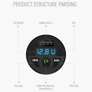 Image 4 - Ładowarka samochodowa Bluetooth odtwarzacz muzyczny MP3 obsługa karty TF U dysk MP3 WAV WMA FLAC APE CVC tłumienie szumów nadajnik Auto FM