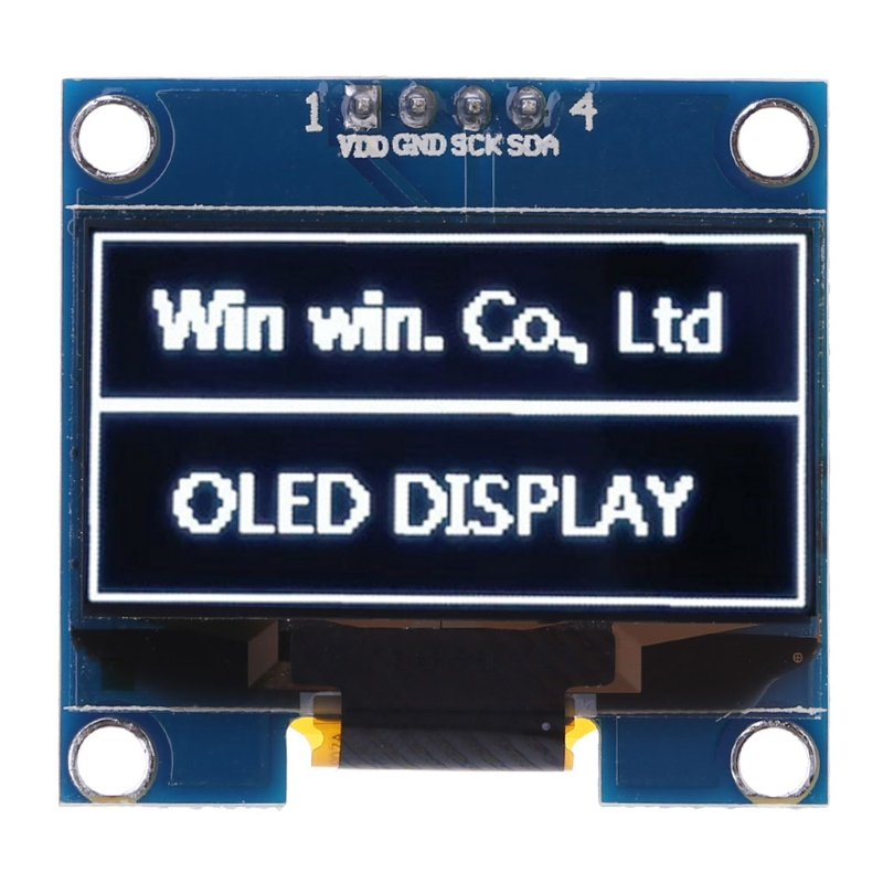 OLED Module White Color 128X64 LCD LED Display Module DIY 1.3 inch For Arduino
