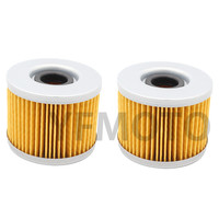 2 Pcs Motorcycle Oil Filter For HON DA CM400 CX400 CB450 CM450 CMX450 CX 500 GL500/650 CBX550 CX650