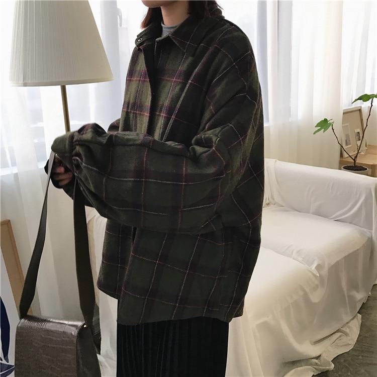 jaqueta retro casual feminino botão superior