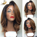 Glueless Ombre Lace Front Human Hair Wigs Brazilian Ombre Full Lace Human Hair Wigs For Black Women Human Hair Wigs