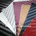 1.27*1M 3D carbon fiber vinyl car wrapping foil self adhesive vinyl car sticker-- 14 color option FREESHIPPIING