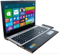 1920X1080 P 15.6 inch 4 ГБ RAM + 320 ГБ HDD J1900 Quad Core Ноутбук с Русским клавиатура WIFI HDMI DVD RW Windows10 Notebook