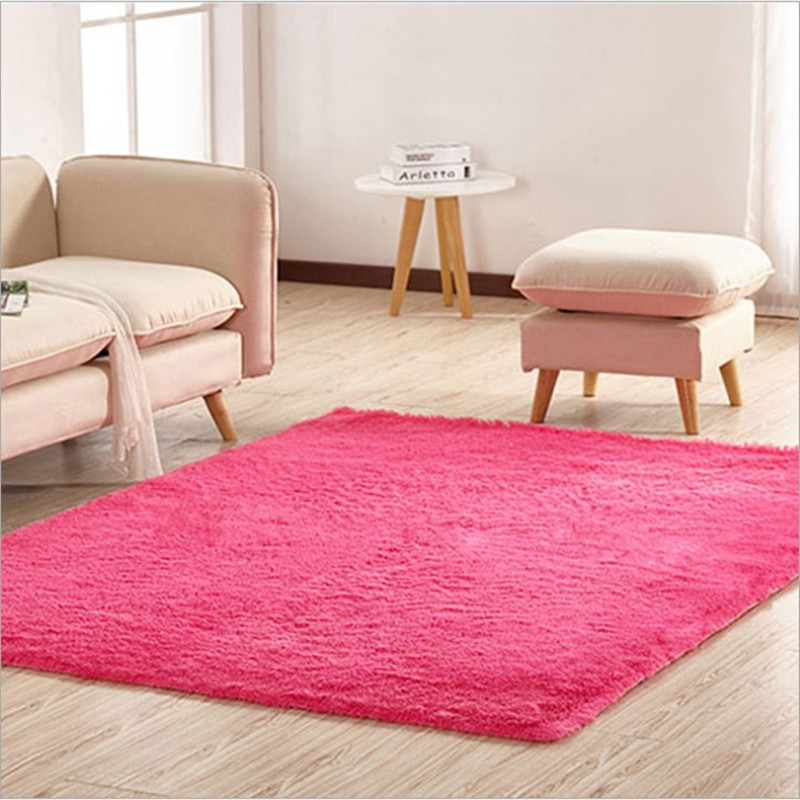 50*120cm/19.68*47.24inch Shaggy Home Throw Rugs For Bedroom Soft Rug For Bedroom Free Shipping