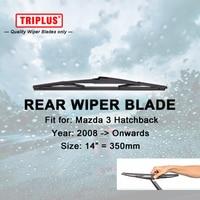 Rear Wiper Blade For Mazda 3 Hatchback 2008 Onwards 1pc 14 350mm Car Rear Windscreen Wipers