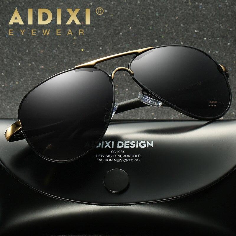 678bdf6d68 HOT Brand Designer Men s Sunglasses Polarized Mirror Lens Big Oversize  Eyewear Accessories Sun Glasses For Men Women 8503