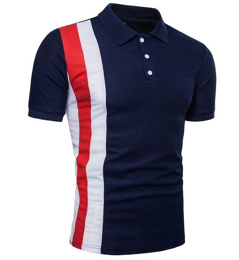 ZOGAA 2019 Business Fashion   Polo   Shirt Men Short Sleeve Contrast Color Casual Slim Fit Style Summer Tops for Mens   Polo   Shirts