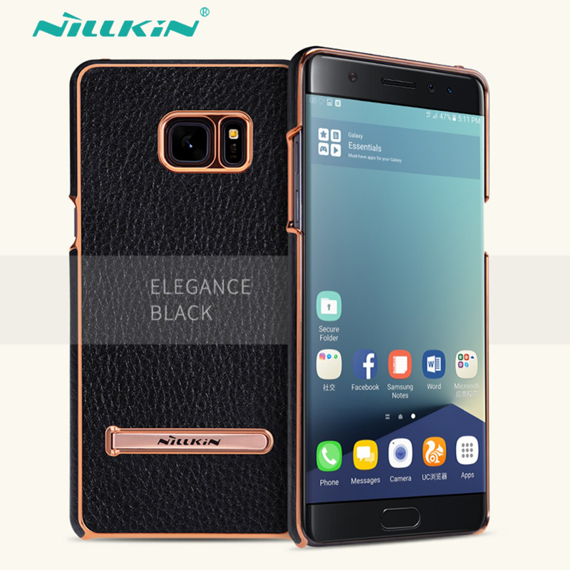 pretty nice 8741c ba9e9 US $9.89 |NILLKIN M Jarl Series Case For Samsung Galaxy Note FE Fan Edition  back Cover Case with adjustable holder standard for Note7 case-in Fitted ...