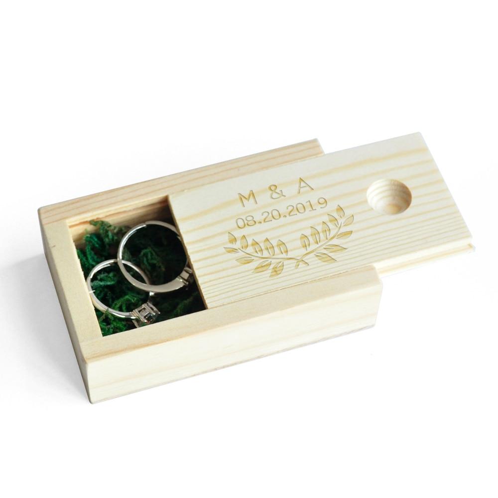 Personalised Initials Wedding Ring Box,Wedding Box,Wooden Ring Box,Engagement Proposal Custom Ring Holder,Ring Bearer