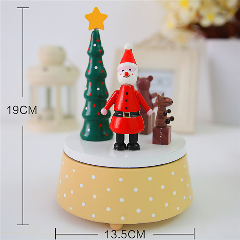 christmas dreams wooden creative boxes christmas music boxes new arrival wholesale free shipping 30ri11 in music boxes from home garden on aliexpresscom - Christmas Music Free