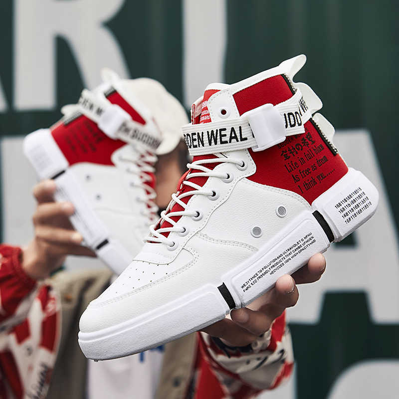 Men Sneakers 2019 New High Top Shoes