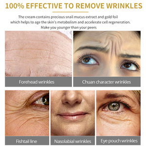 Image 3 - SOMILD 24K Gold Face Cream Snail Essence Anti Aging Skin Care Wrinkle Blemish Remove Korean Cosmetics Eye Cream Facial Whitening