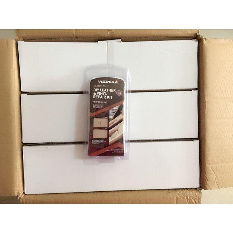 72 комплекты/коробка visbella Обновление Авто Автокресло диван Пальто для будущих мам отверстий царапинам трещин ASOS кожа винил Ремкомплект кожа...