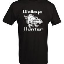 2019 Hot Sale 100& Cotton Walleye Hunter Fisher Outdoorer