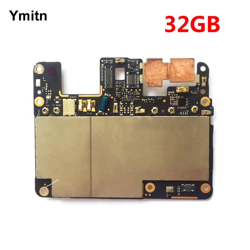 Ymitn Travail Bien Débloqué Mobile Électronique Panneau Carte Mère Carte Mère Circuits Flex Câble Pour Google Pixel 32 gb