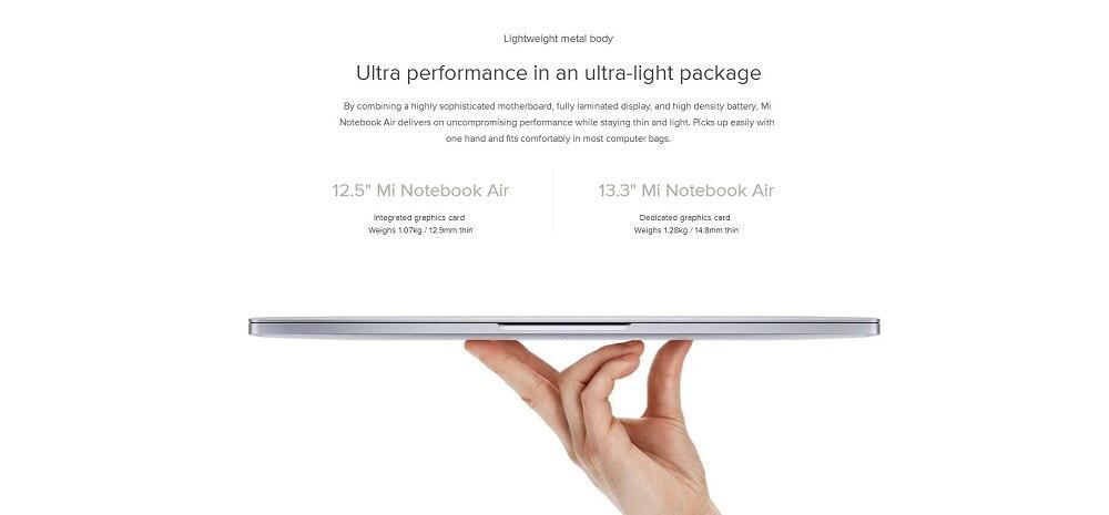 4  Unique xiaomi Laptop computer Air 13 Pocket book 8GB 256GB Home windows 10 GeForce 150MX PCIe 1920×1080 Twin Core 2G GDDR5 Fingerprint Unlock HTB16OhrnaagSKJjy0Faq6z0dpXag