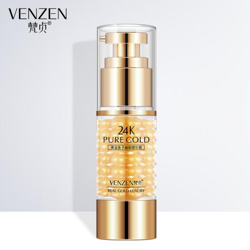 Gold Caviar Eye Cream Moisturizing Anti Wrinkle Lifting Firming Anti Aging Remove Dark Circles Eye Skin Care Cream