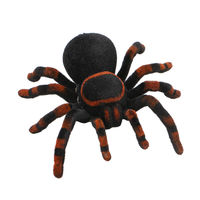 New Remote Control Soft Scary Plush Creepy Spider Infrared RC Tarantula Kid Gift Toy Gift