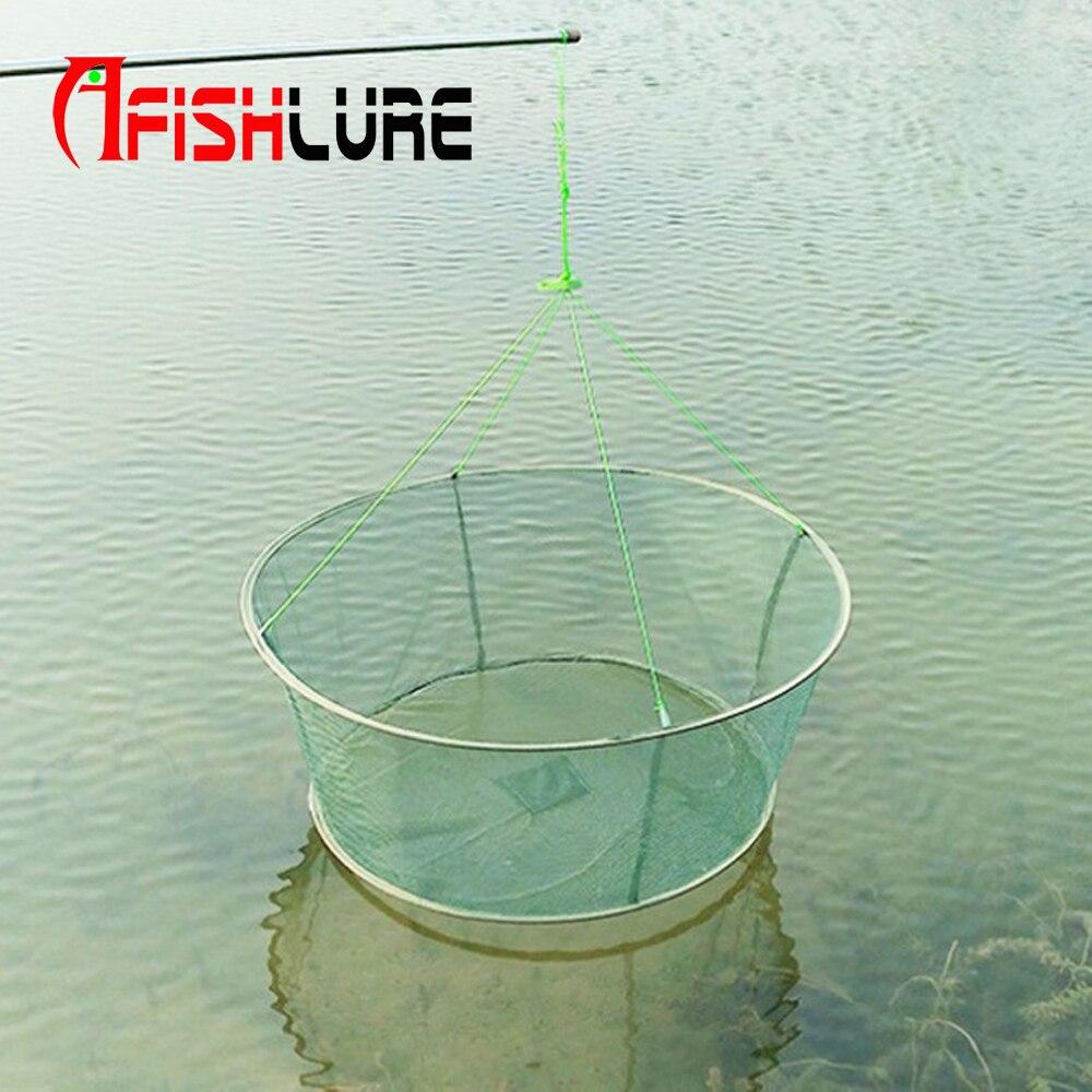 Большой 31 Drop посадка рыболовная сеть большое Pier Harbour пруд креветки приманки краб креветка
