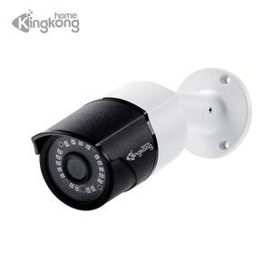 Image 1 - Kingkonghome ip câmera 1080 p poe metal ip câmera onvif câmera de segurança ao ar livre visão noturna cctv à prova dwaterproof água ao ar livre bala cam