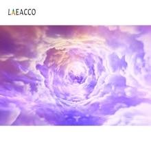 купить Laeacco Colorful Cloudy Vortex Cloud Backdrop Children Portrait Photography Background Photographic Backdrop For Photo Studio дешево