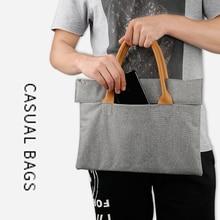 linen laptop bag 15.6 14.1 13.3 11.6 notebook sleeve case Business handbag casual briefcase for macbook air pro 11 13 15 SY021
