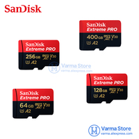 SanDisk A2 64GB 128GB 256GB MicroSD memory card C10 V30 U3 4K Extreme ultra fast reading speed 170MB / s write speed 90MB / s