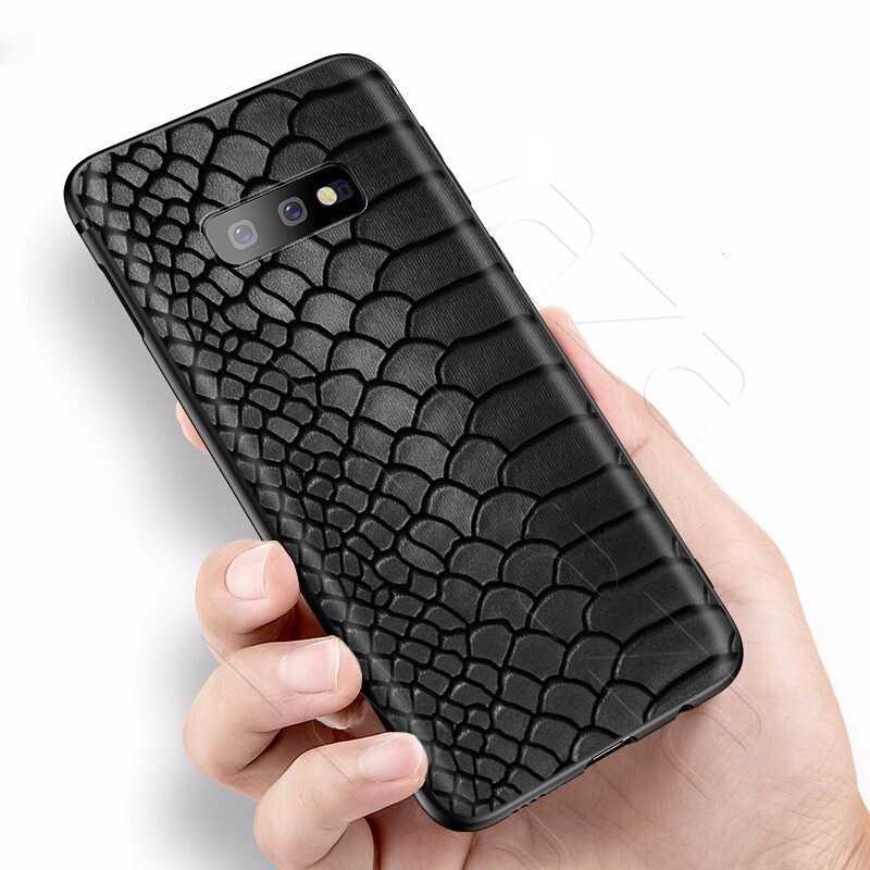 Lavaza Peau de Serpent D'art étui pour samsung Galaxy S6 S7 Bord J6 S8 S9 S10 Plus A3 A5 A6 A7 A8 A9 Note 8 9