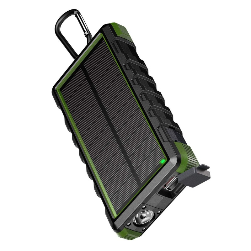 EasyAcc Solar Power Bank Waterproof 24000mAh Solar Charger Ports External Charger Powerbank for Xiaomi Smartphone with LED LightEasyAcc Solar Power Bank Waterproof 24000mAh Solar Charger Ports External Charger Powerbank for Xiaomi Smartphone with LED Light