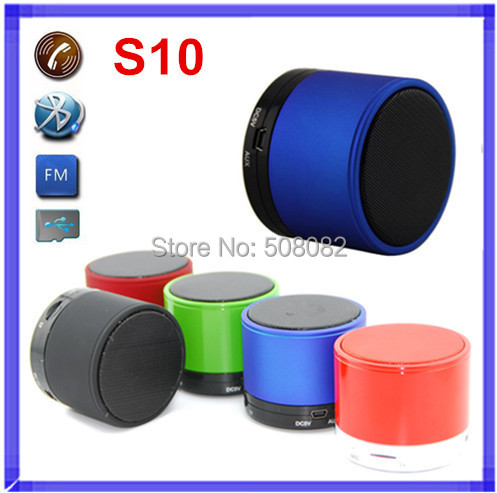 S10 Bluetooth Speaker Mini TF card MP3 Player for Portable Wireless bluetooth moblie support answer callin