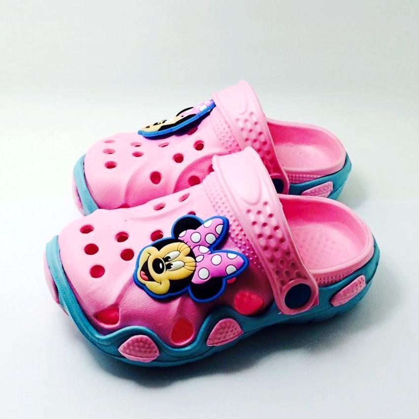 Mix Style Summer Girls Cartoon Hello KT Dora Princess Miffy Rabbit Garden Sandal Clogs EVA Shoes
