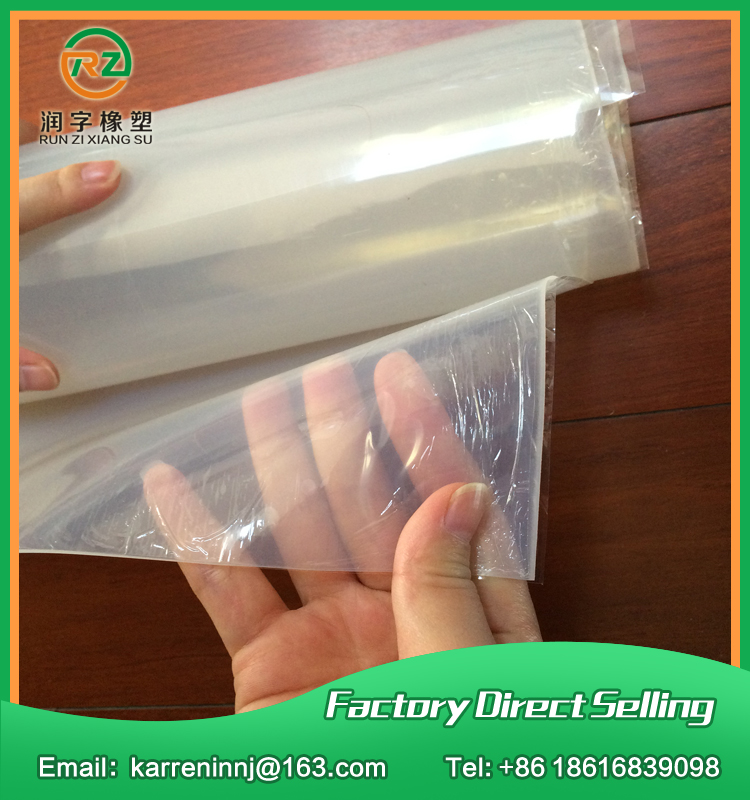 0.5mm Silicone Rubber Sheet Transparent Thin Silicone Rubber Sheet 500mm width, 0.5mm thickness, 10meters 500x0 8mm silicone rubber sheet transparent silicone rubber sheet 500mm width 0 8mm thickness 10meters