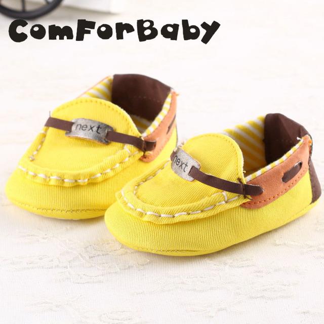Sapatos da criança 0 e 1 ano de idade do sexo masculino e feminino bebê fundo macio do bebê sapatos casuais YEW328