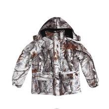 Одежда для охоты, камуфляжная водонепроницаемая куртка, камуфляжная зимняя уличная одежда, комплект для альпинизма и рыбалки, военная куртка+ штаны