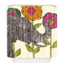 """2015 vente Chaude Livraison Gratuite Sur Mesure élégant éléphant imperméable Rideau De Douche 60 """"x 72"""" salle de bains décoration"""