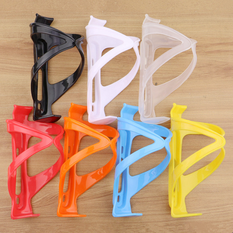 Bike Bicycle Plastic Water Bottle Holder Cage Rack Outdoor Sports Accessories Strong Toughness Durable Cycling Accessories