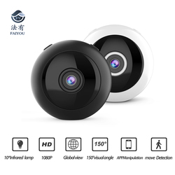 Magnet Absorb Flexibility Wide Angle WIFI Mini Security Camera IR Night Vision1080P IP P2P App Mobile Manipulation Motion Detect